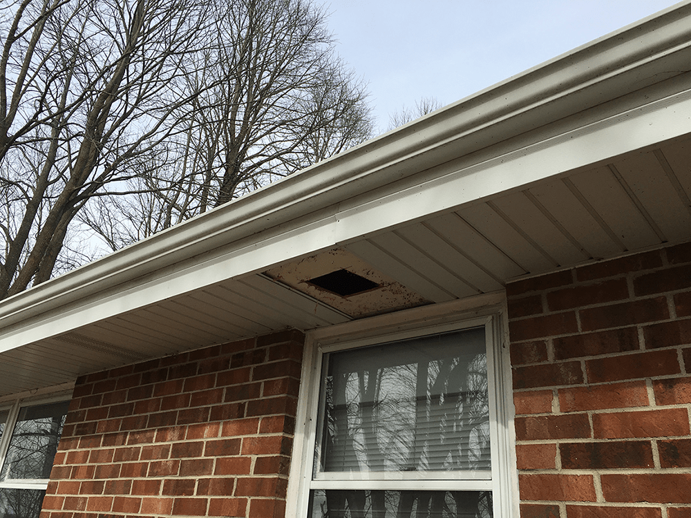 Roof Ventilation And Chimney Flashing Project Twin Pines