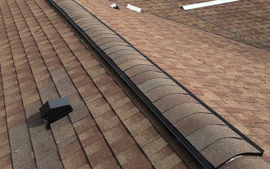 Roof Ventilation and Chimney Flashing Project